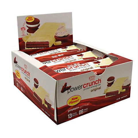 Power Crunch Original Bar Red Velvet