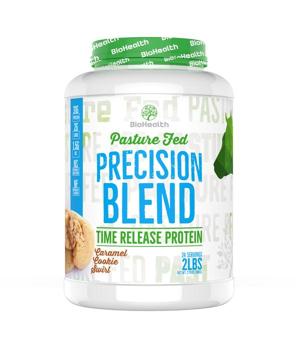 BioHealth Precision Blend - Time Release Protein Caramel Cookie Swirl