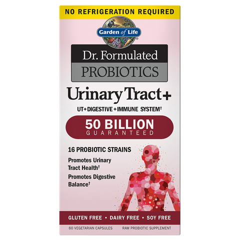 Dr. Formulated Probiotics Urinary Tract+ 50 Billion CFU
