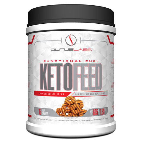 Purus Labs Samoa Chocolate Cream Keto Feed Protein