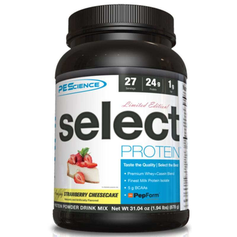 PEScience Select Protein Strawberry Cheesecake
