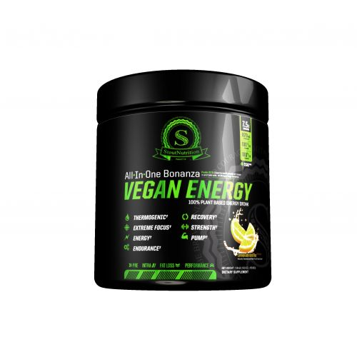Stout Nutrition All In One Vegan Energy Pre-workout Powder
