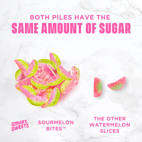 Smart Sweets Sourmelon Bites