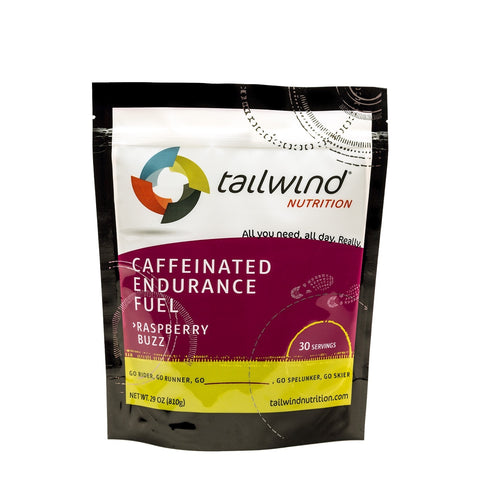 Tailwind Raspberry Buzz Caffeinated Endurance Fuel