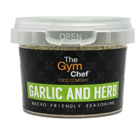 TheGymChef Garlic and Herb Seasoning