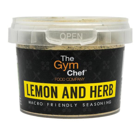TheGymChef Lemon and Herb Seasoning