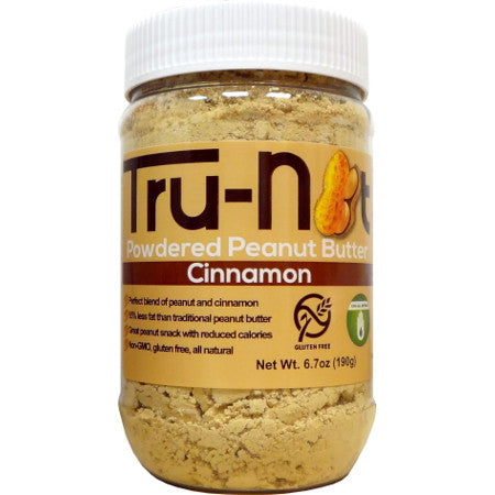 Tru-Nut Powdered Peanut Butter - 6.7oz Cinnamon