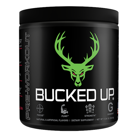 Bucked Up - Pre-Workout (Select Flavor)