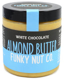Funky Nut Co. White Chocolate Almond Butter