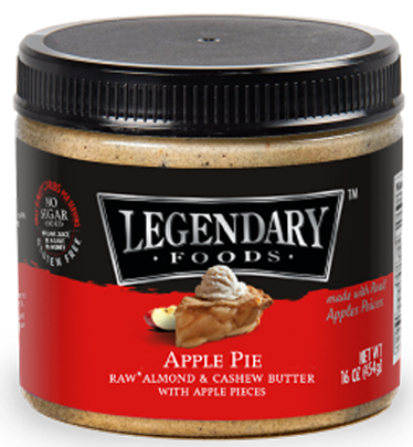 Legendary Foods Apple Pie Almond & Cashew Butter 16oz