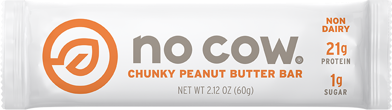 No Cow Chunky Peanut Butter Non Dairy Protein Bar