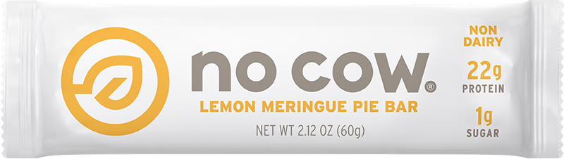 No Cow Lemon Meringue Non Dairy Protein Bar