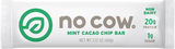 No Cow Mint Cacao Chip Non Dairy Protein Bar