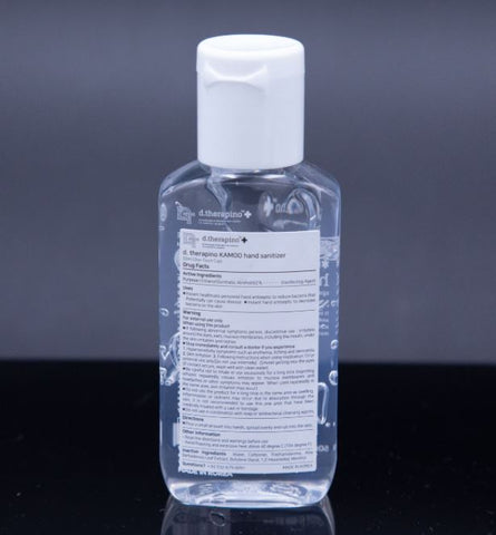 Dr.Therapino Hand Sanitizer Gel 62% Alcohol 50ml/1.69oz Pop-Top