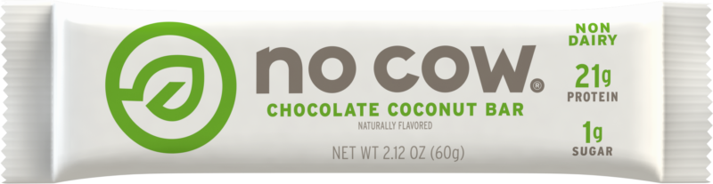 No Cow Chocolate Coconut Non Dairy Protein Bar