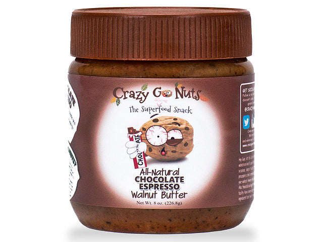 Crazy Go Nuts Chocolate Espresso Walnut Spread