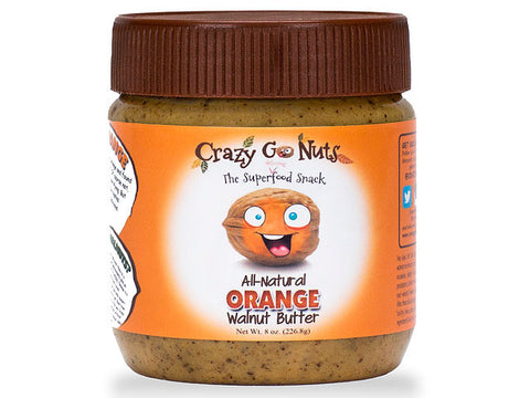 Crazy Go Nuts Orange Walnut Spread