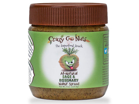 Crazy Go Nuts Sage Rosemary Walnut Spread