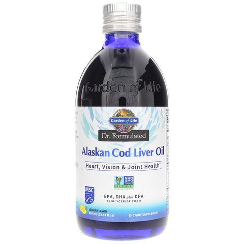Garden Of Life Dr. Formulated Alaskan Cod Liver Oil (Select Size)