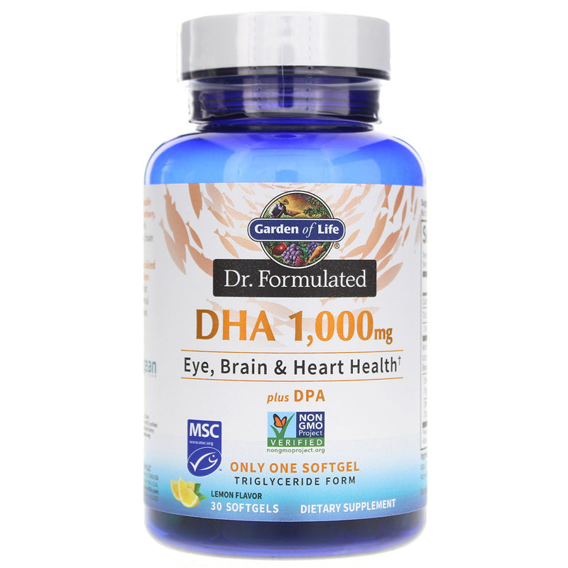 Garden Of Life Dr. Formulated DHA 1,000MG