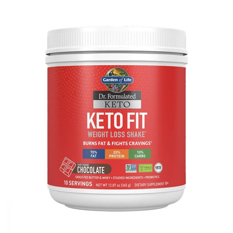 Garden Of Life Keto Fit Weight Loss Shake (SELECT FLAVOR)
