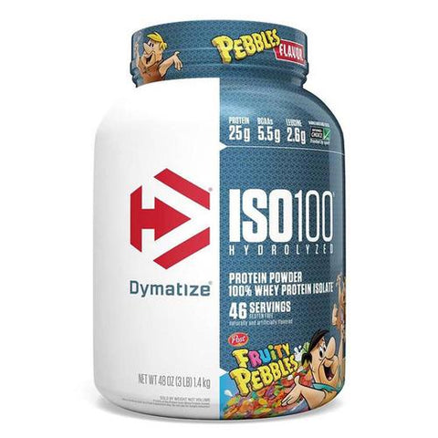 Dymatize Iso 100 Fruity Pebbles 3lb Protein Powder