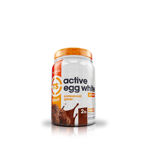 Top Secret Nutrition Active Egg White Protein 2lbs (Select Flavor)