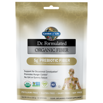 Dr. Formulated Organic Fiber (Select Flavor)