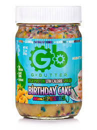 G Butter Birthday Cake Spread