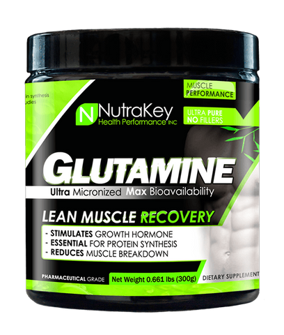 NutraKey Glutamine Powder 300g Unflavored