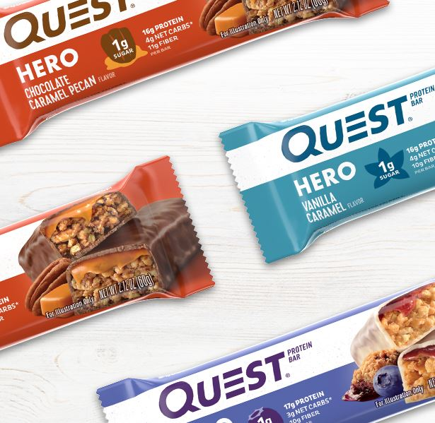NEW Quest Nutrition Hero Bar (Select Flavor/Size)