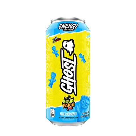 Ghost Energy Drink RTD Sourpatch Blue Raspberry
