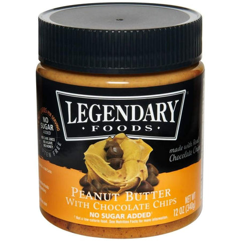Legendary Foods Peanut Butter Chocolate Chip Butter
