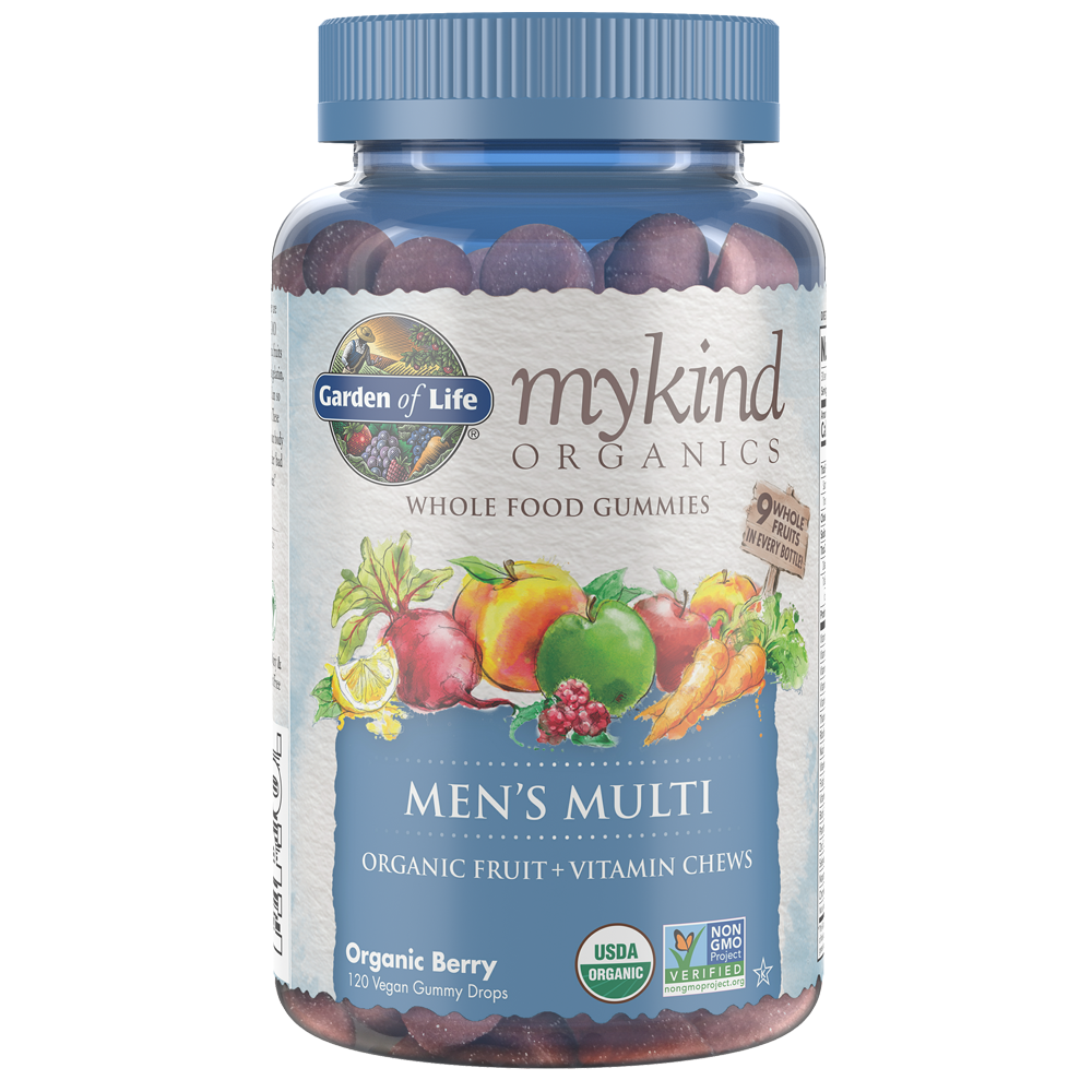 mykind Organics Multivitamin Gummies Men's