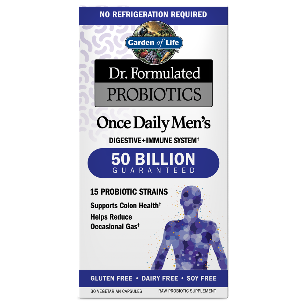 Dr. Formulated Probiotics Once Daily Men's 50 Billion CFU