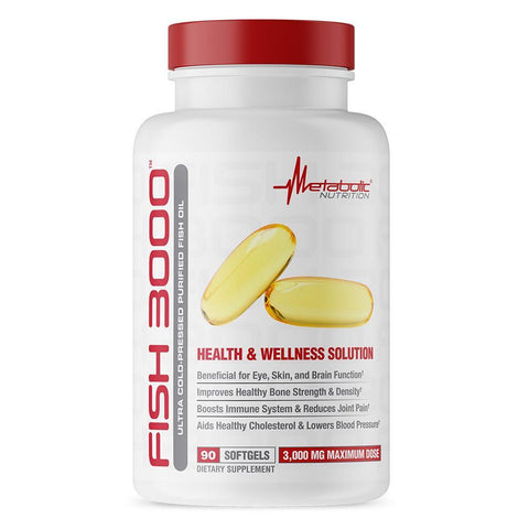Metabolic Nutrition Fish Oil 3000