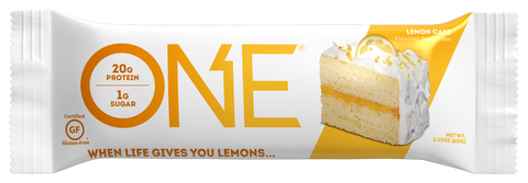 OhYeah ONE Bar Lemon Cake