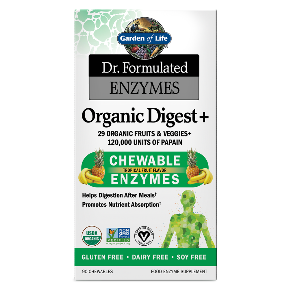 Dr. Formulated Enzymes Organic Digest+ Chewables