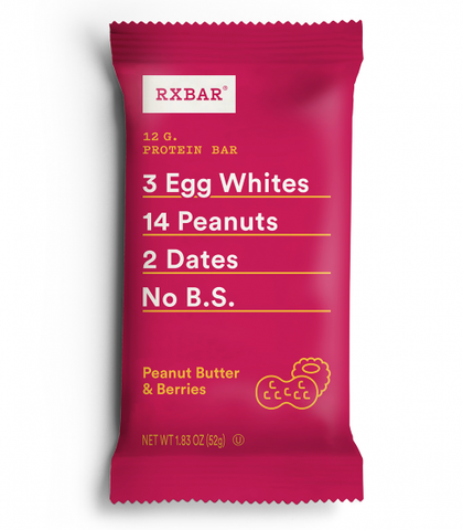 RxBar Peanut Butter & Berries