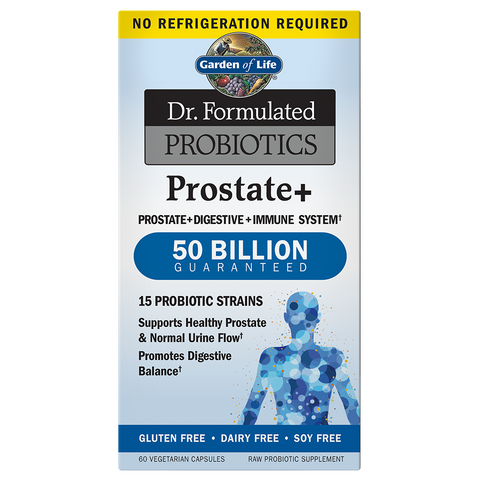 Dr. Formulated Probiotics Prostate+ 50 Billion CFU