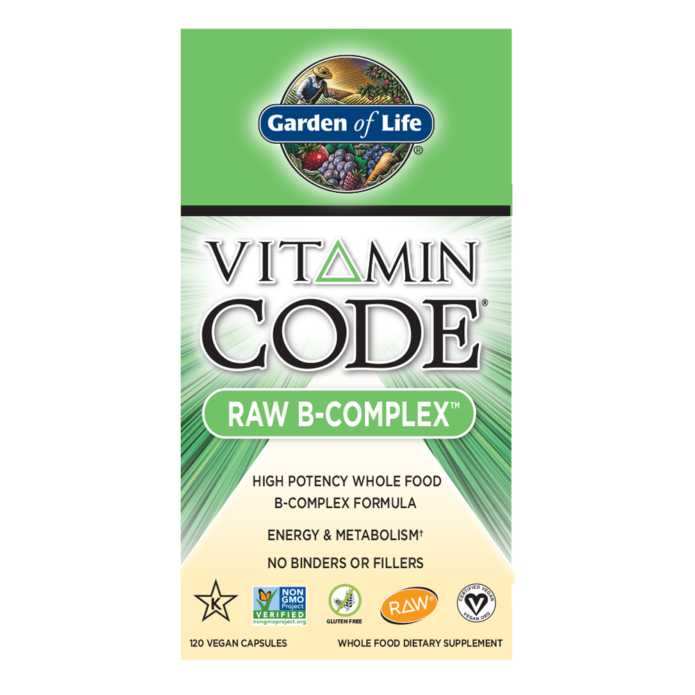Garden Of Life Vitamin Code Raw B-Complex (Select Size)