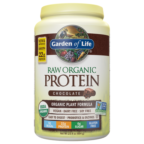 Garden Of Life RAW Organic Protein 20srv Bottle (SELECT FLAVOR)