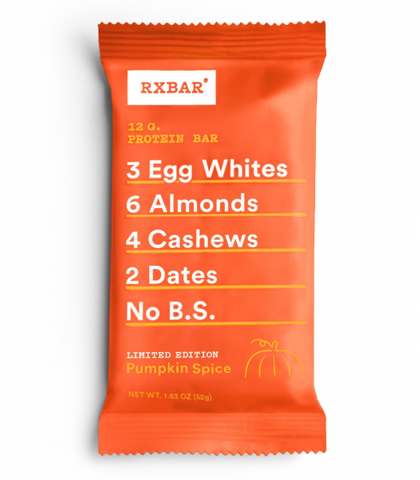 RxBar *Seasonal* Pumpkin Spice