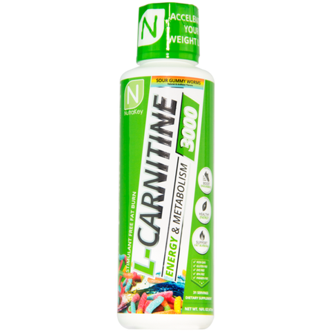 NutraKey L-Carnitine 3000 (Select Flavor)