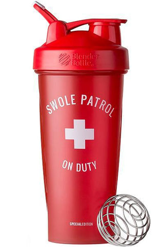 "BlenderBottle 28oz ""Swole Patrol"" SPECIAL EDITION Shaker cup"