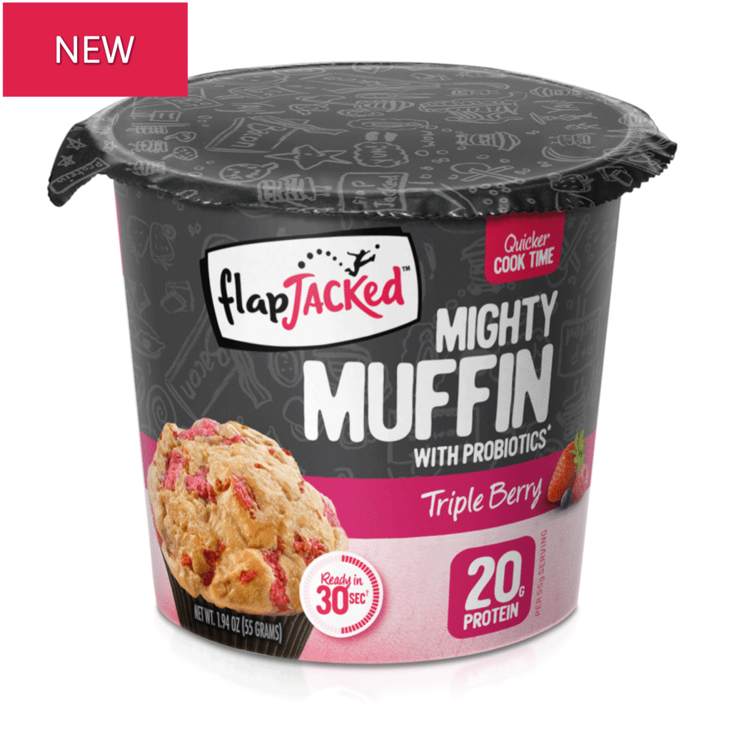 FlapJacked Mighty Muffin Triple Berry