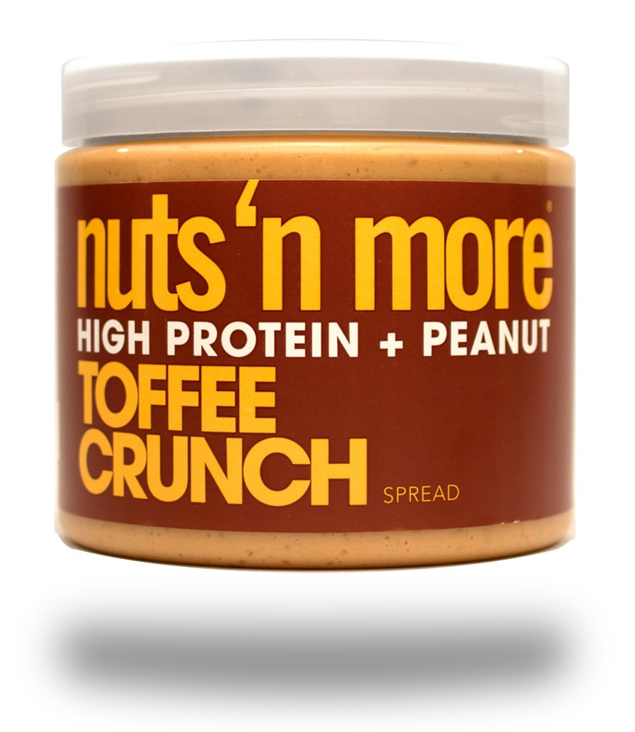 TOFFEE CRUNCH HIGH PROTEIN PEANUT SPREAD
