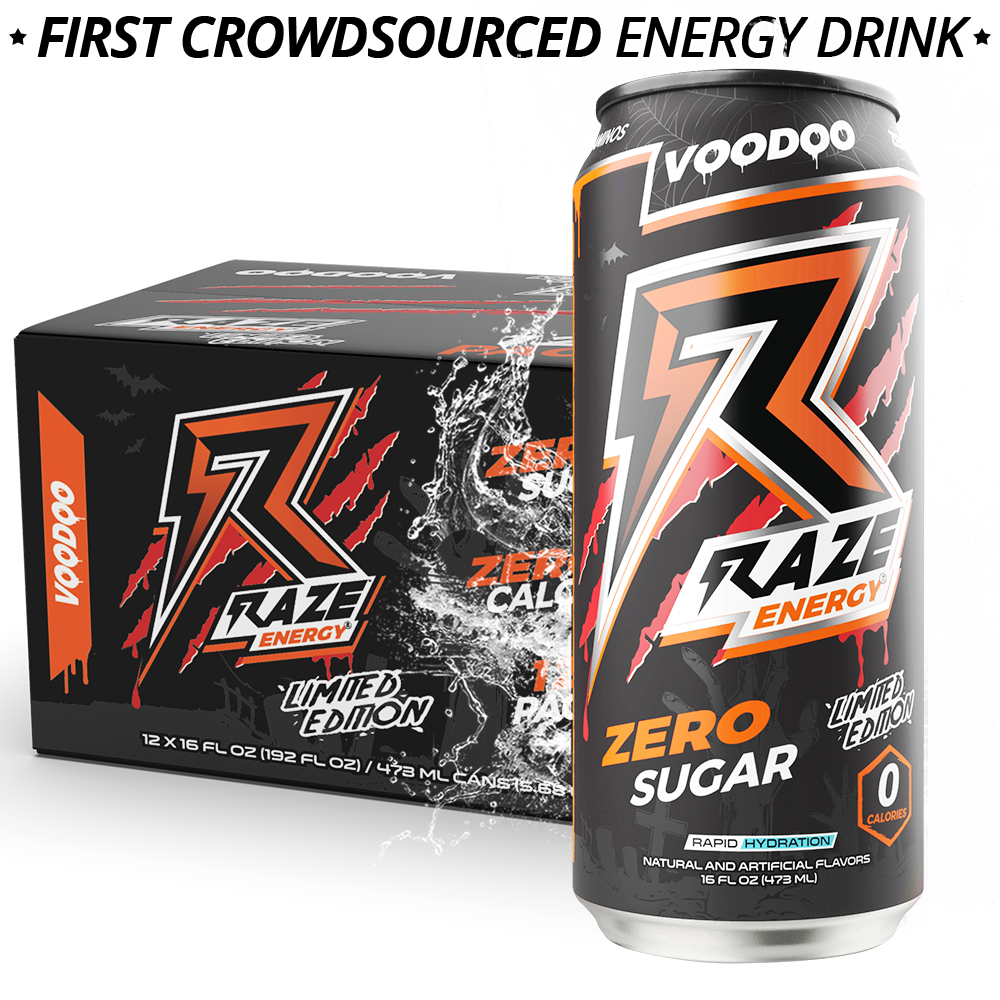 Repp Sports Raze Energy Drink RTD Voodoo