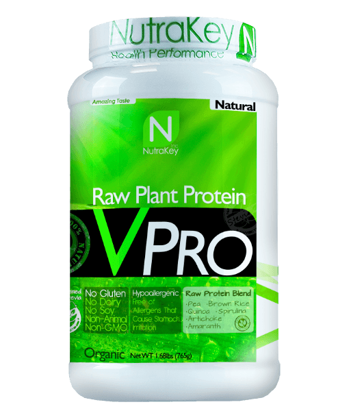 NutraKey V Pro Raw Plan Protein (Select Size/Flavor)