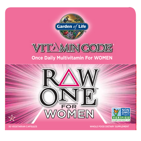 Garden Of Life Vitamin Code Raw One For Women 75 Day Supply